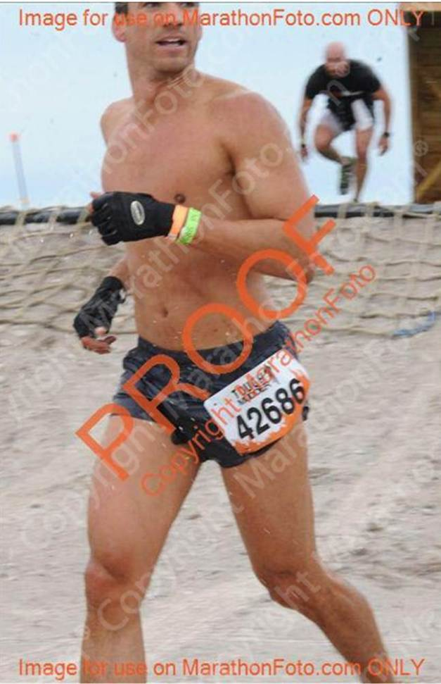 Tough Mudder run 1